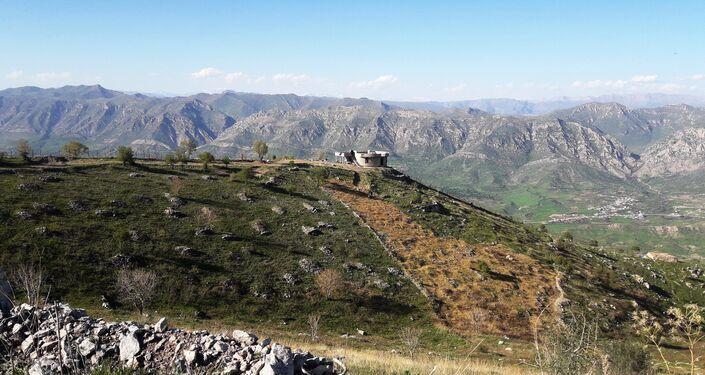 Góry Bukeser na północy Iraku
