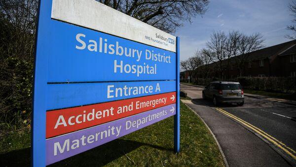 Miasto Salisbury w Wielkiej Brytanii, gdzie zostali otruci Siergiej Skripal i jego córka Julia - Sputnik Polska
