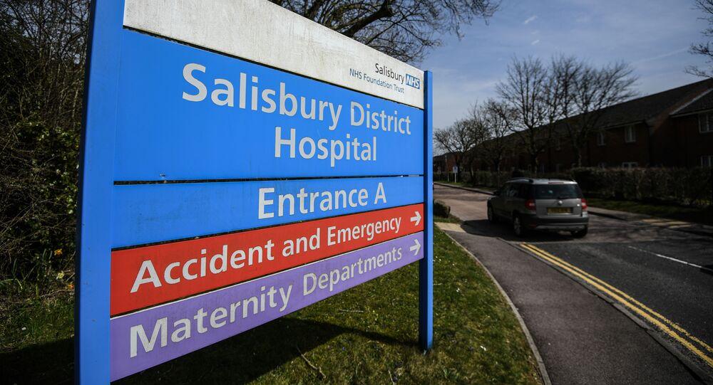 Miasto Salisbury w Wielkiej Brytanii, gdzie zostali otruci Siergiej Skripal i jego córka Julia