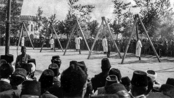 Powieszenie Ormian w Stambule, 24 kwietnia 1915 r. - Sputnik Polska