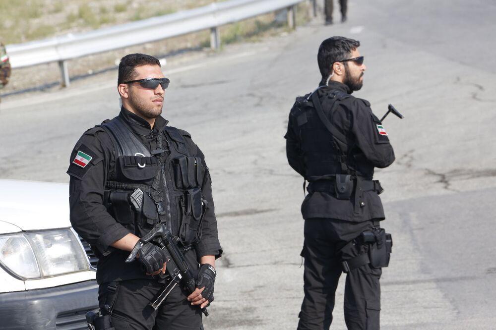 Siły Szybkiego Reagowania na paradzie wojskowej w Teheranie