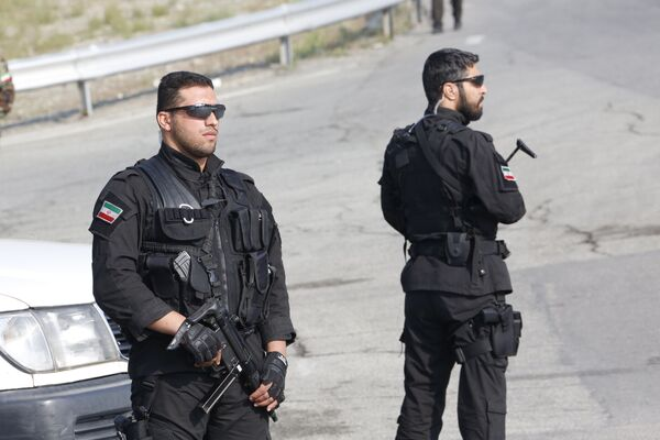 Siły Szybkiego Reagowania na paradzie wojskowej w Teheranie - Sputnik Polska