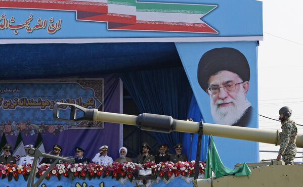 Parada wojskowa w Teheranie - Sputnik Polska