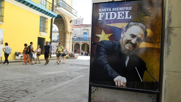 Plakat w Hawanie - Sputnik Polska