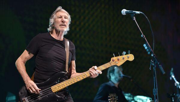 Założyciel zespołu Pink Floyd Roger Waters podczas występu w Chicago, USA - Sputnik Polska