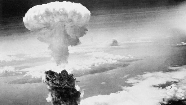 Grzyb atomowy nad Nagasaki - Sputnik Polska