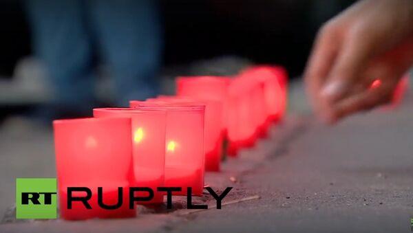 Mieszkańcy Moskwy upamiętnili ofiary bombardowania nuklearnego - Sputnik Polska