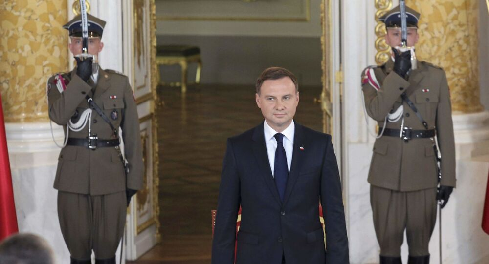 Inauguracja nowego prezydenta Polski Andrzeja Dudy w Zamku Królewskim w Warszawie
