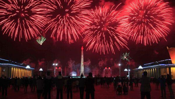 Uroczystości w Pjongjangu - Sputnik Polska