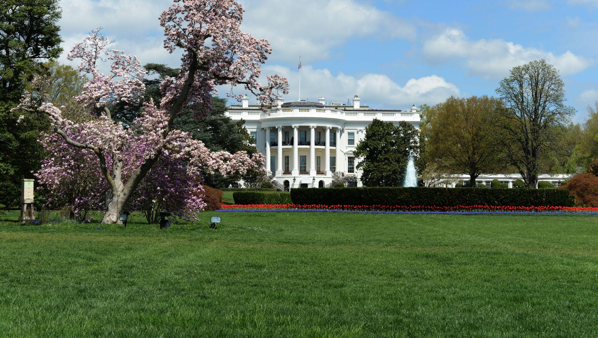 Biały Dom w Waszyngtonie - Sputnik Polska, 1920, 15.04.2021