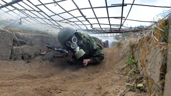 Manewry wojskowe na Białorusi - Sputnik Polska