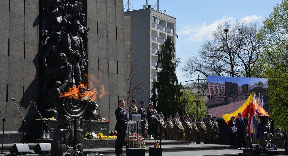 Obchody 75. rocznicy powstania w warszawskim getcie