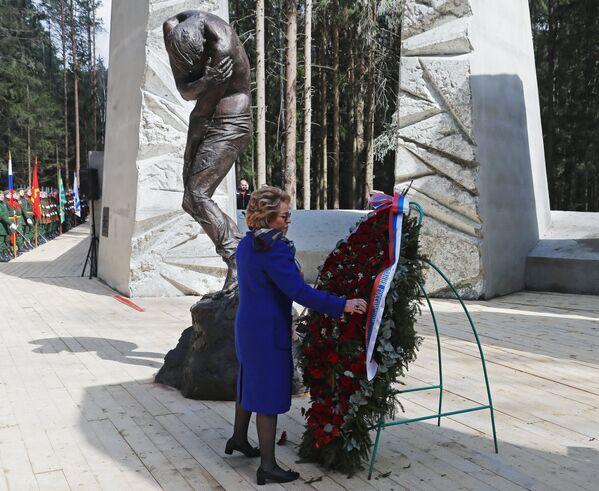 Otwarcie przebudowanego memoriału w Katyniu - Sputnik Polska