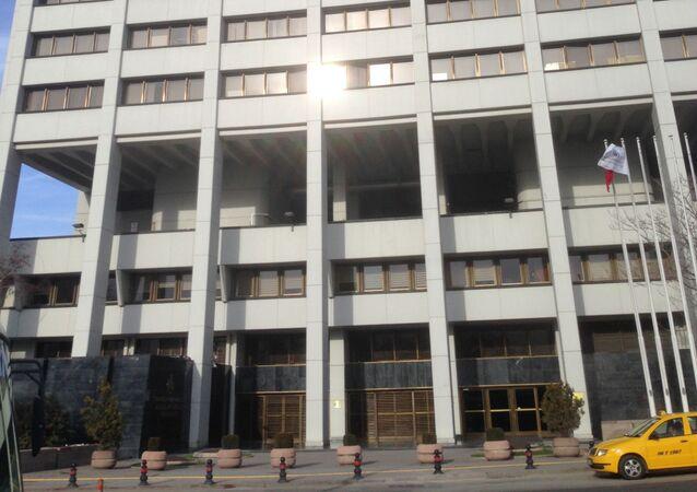 Budynek Banku Centralnego Turcji w Ankarze