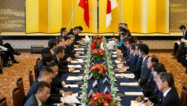Dialog japońsko-chiński - Sputnik Polska