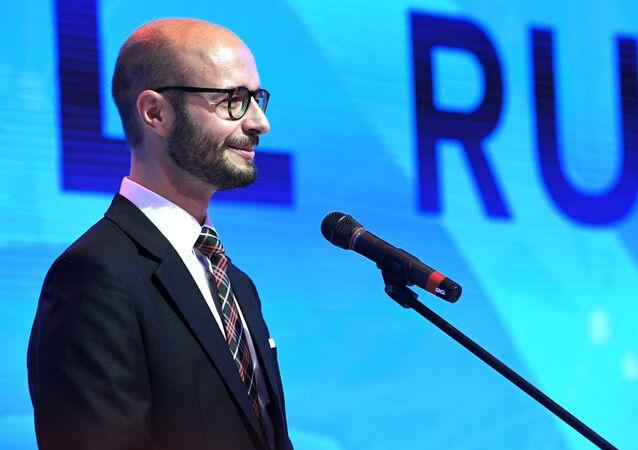 Wiceburmistrz miasta Linz Detlef Wimmer na Jałtańskim Międzynarodowym Forum Ekonomicznym