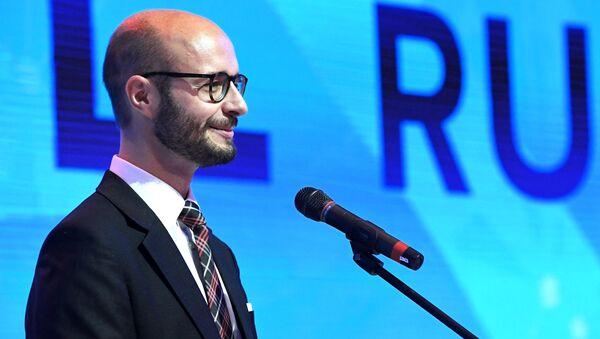 Wiceburmistrz miasta Linz Detlef Wimmer na Jałtańskim Międzynarodowym Forum Ekonomicznym - Sputnik Polska