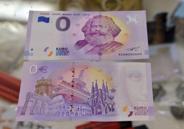 """Banknoty o nominale """"0"""" euro pojawiły się w Niemczech"""