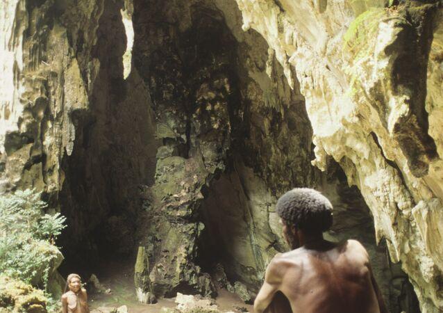 Aborygeni z Papui Nowej Gwinei
