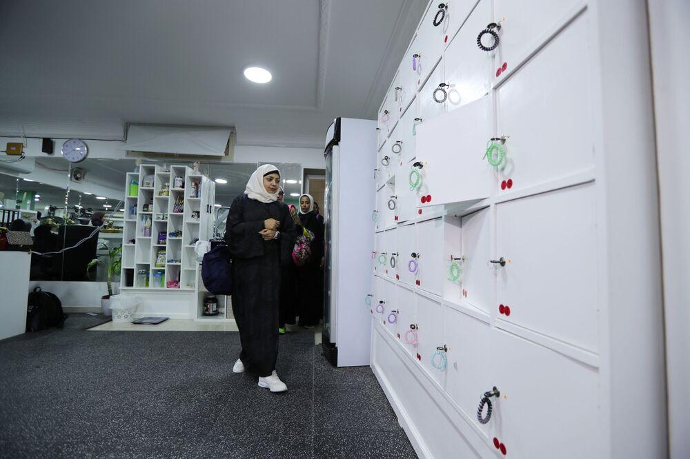 Kobiety w siłowni w Al-Katif, Arabia Saudyjska