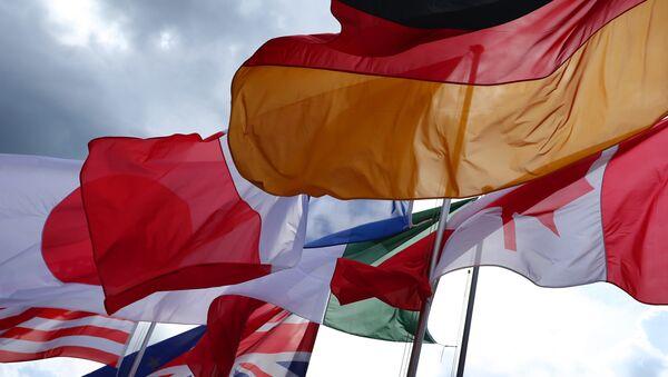 Flagi państw G7 - Sputnik Polska