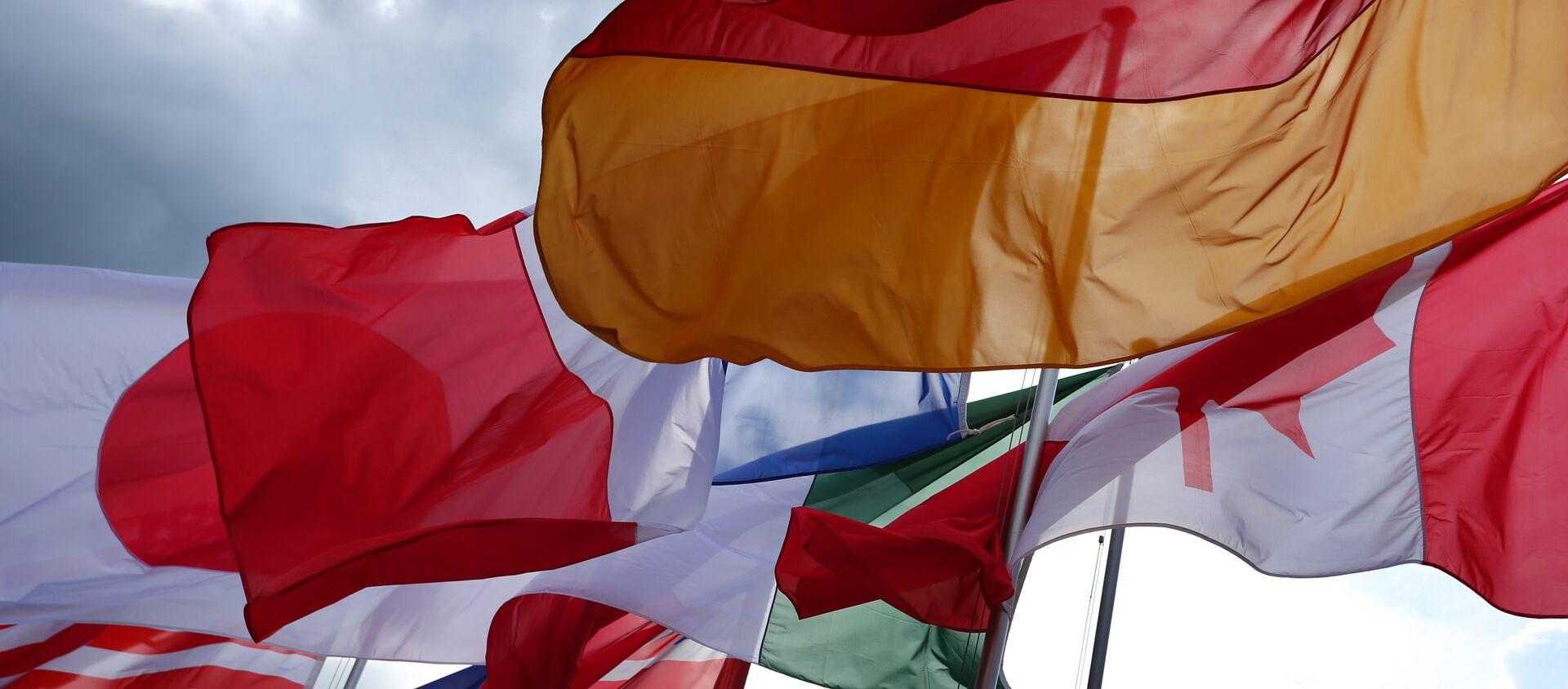 Flagi państw G7 - Sputnik Polska, 1920, 02.05.2021