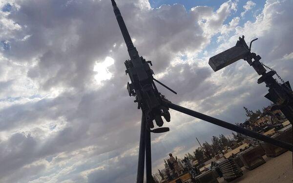 Arsenał terrorystów w rękach syryjskiej armii - Sputnik Polska