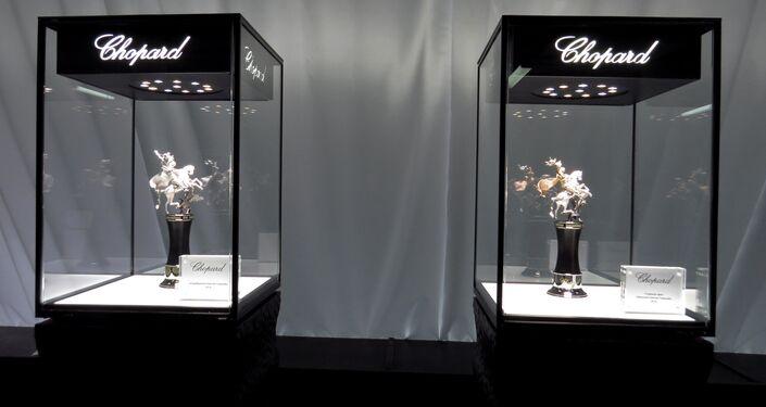 Główne nagrody Festiwalu w wykonaniu firmy jubilerskiej Chopard