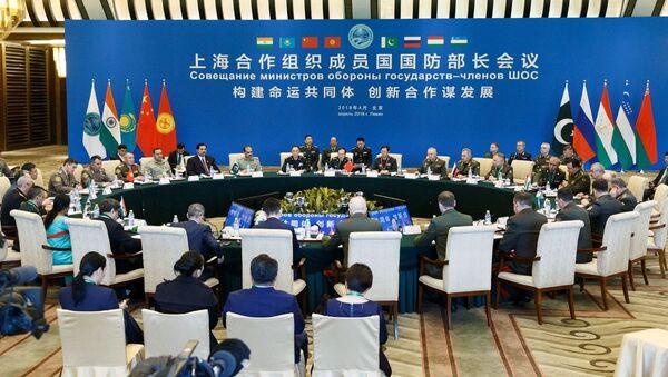 Narada ministrów obrony państw członkowskich SOW w Chinach - Sputnik Polska