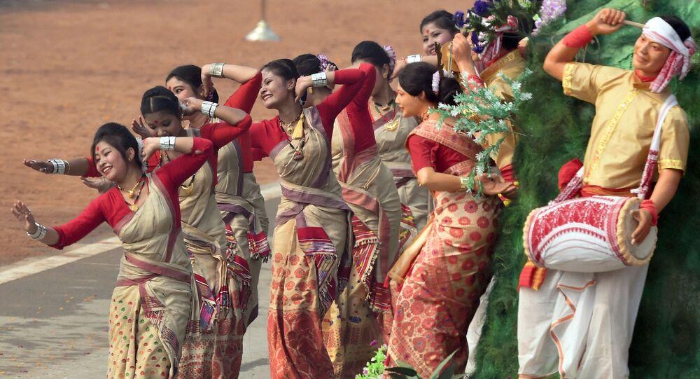 Tańce w Indiach