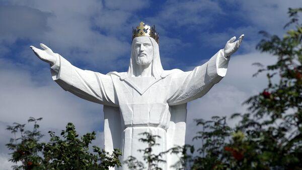 Pomnik Jezusa Chrystusa w Świebodzinie - Sputnik Polska