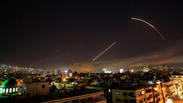 Ostrzał rakietowy Syrii - Sputnik Polska