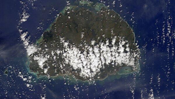 Wyspa Mauritius widziana z kosmosu - Sputnik Polska