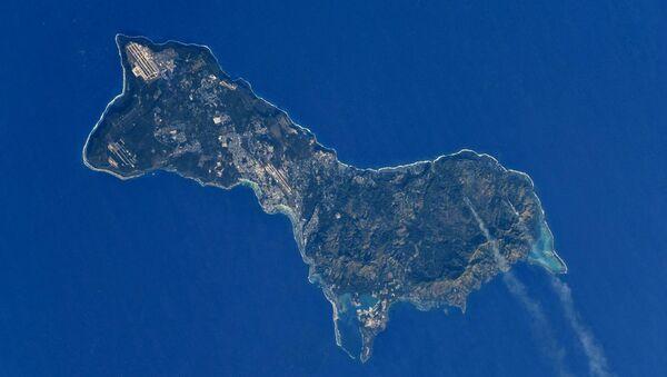 Wyspa Guam widziana z kosmosu - Sputnik Polska