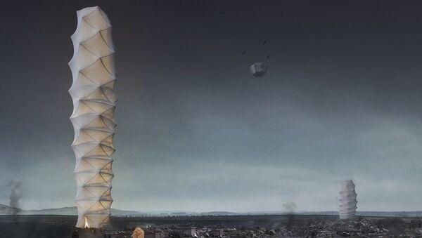 Projekt wieżowca Skyshelter.zip - Sputnik Polska
