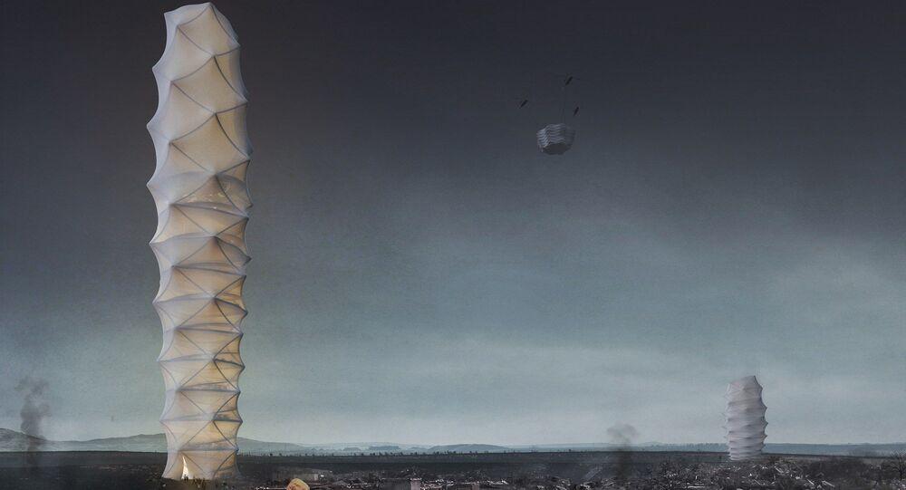 Projekt wieżowca Skyshelter.zip