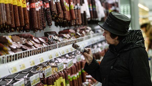 Klientka w sklepie - Sputnik Polska