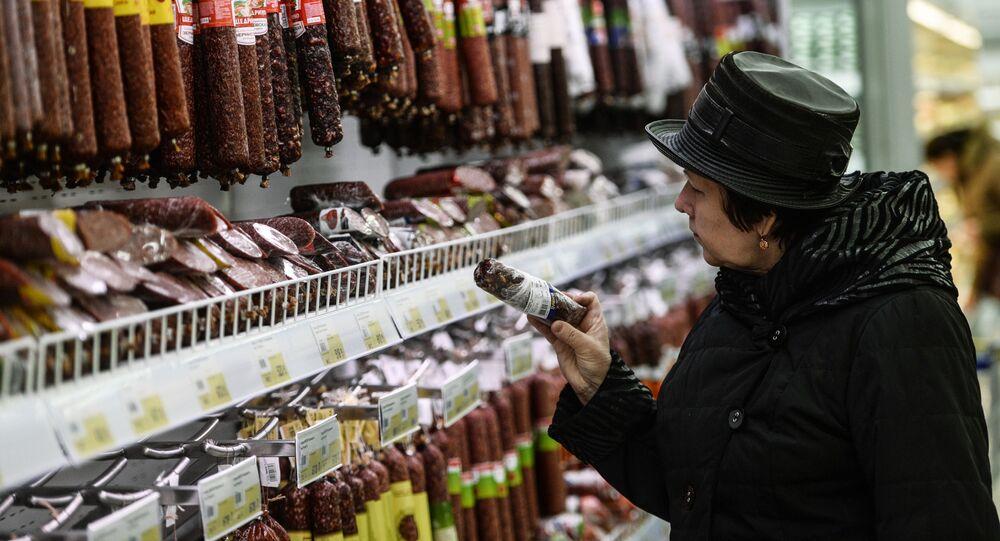 Klientka w sklepie