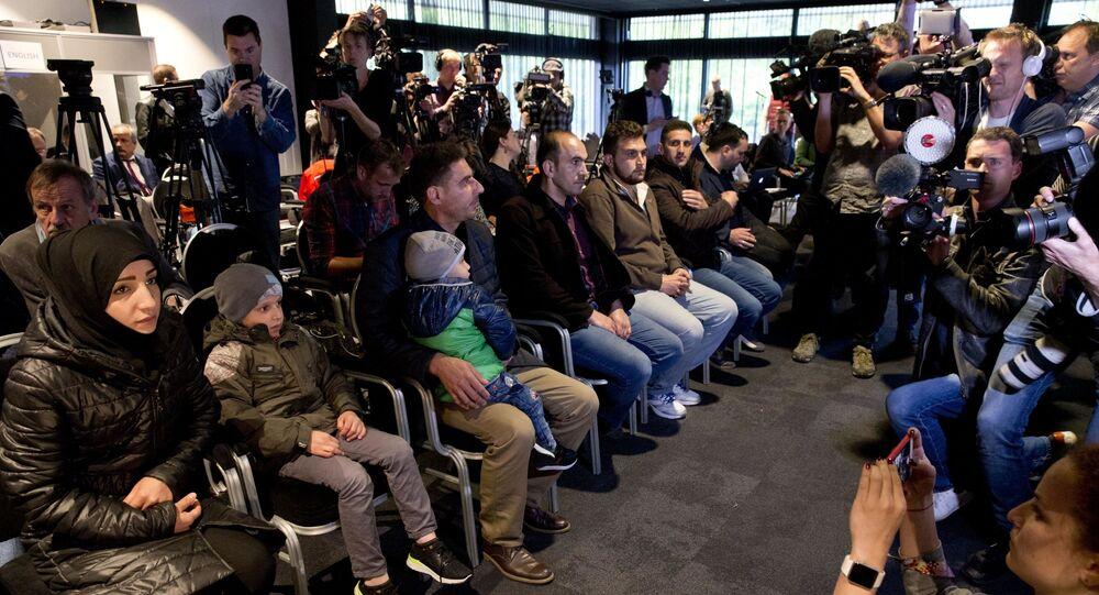 Świadkowie rzekomego ataku chemicznego w syryjskiej Dumie podczas konferencji w Hadze