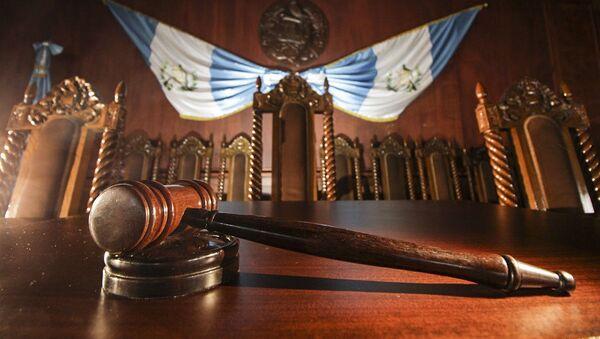 Trybunał Konstytucyjny Gwatemali - Sputnik Polska