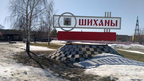 Wjazd do miasta Szychany w obwodzie saratowskim. Zdjęcie archiwalne - Sputnik Polska