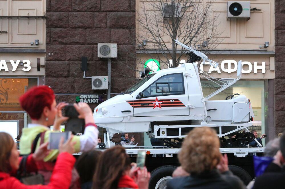 Próba Parady Zwycięstwa na Placu Czerwonym