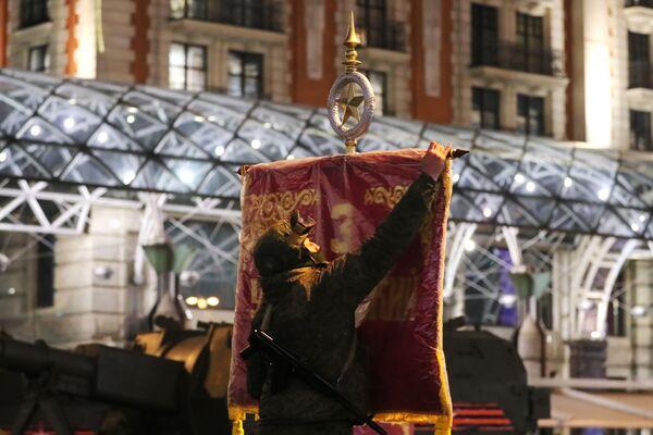 Przygotowania do próby Parady Zwycięstwa na Placu Czerwonym - Sputnik Polska