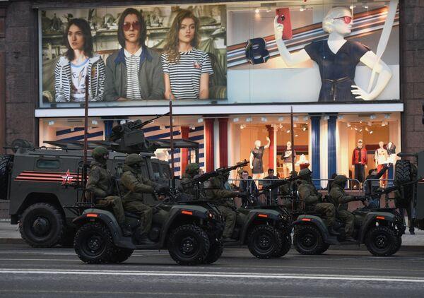 Próba Parady Zwycięstwa na Placu Czerwonym - Sputnik Polska