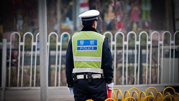 Chiński policjant - Sputnik Polska