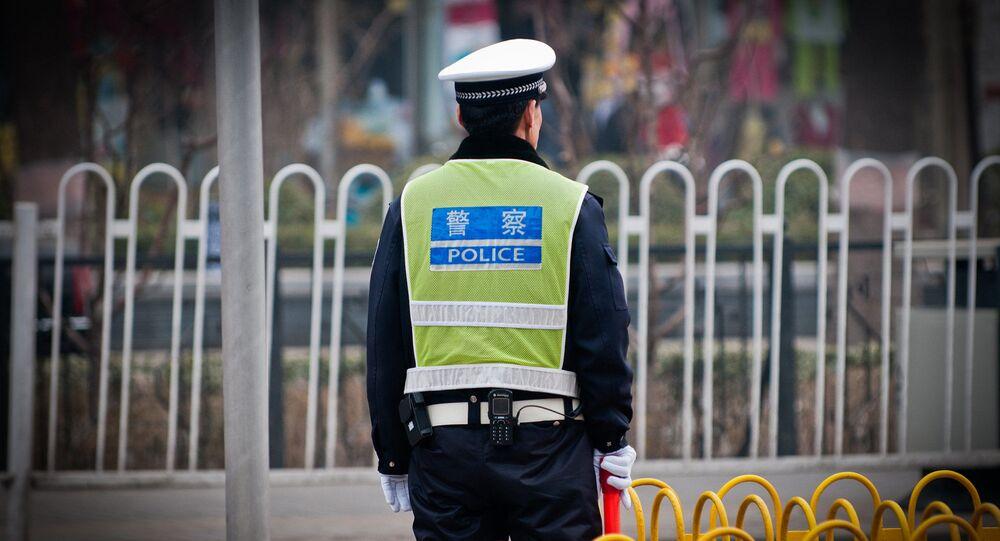 Chiński policjant