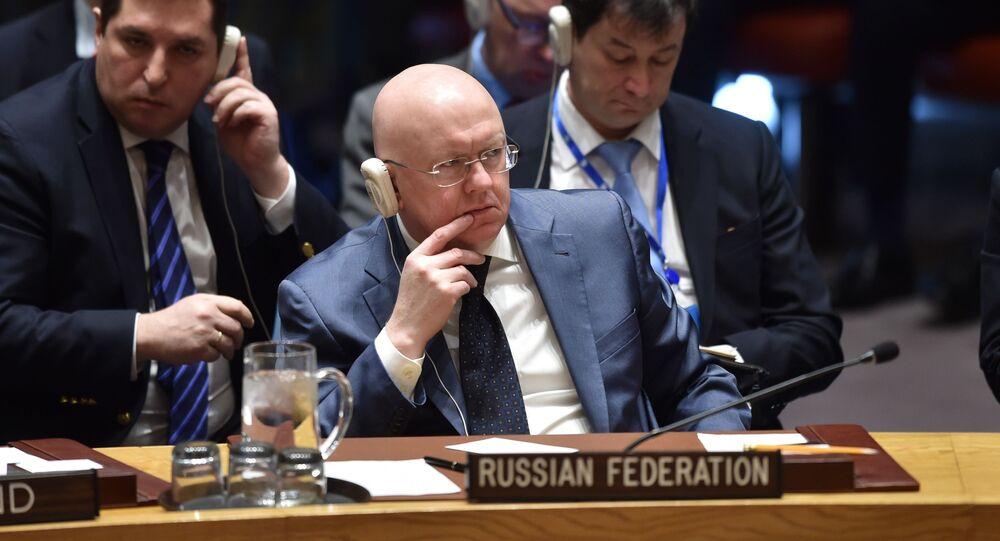 Stały przedstawiciel Rosji przy ONZ Wailij Nebenzia
