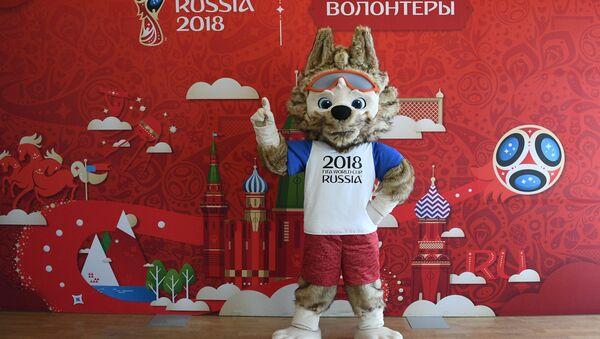 Oficjalna maskotka Mistrzostw Świata w Piłce Nożnej w Rosji 2018 - Sputnik Polska