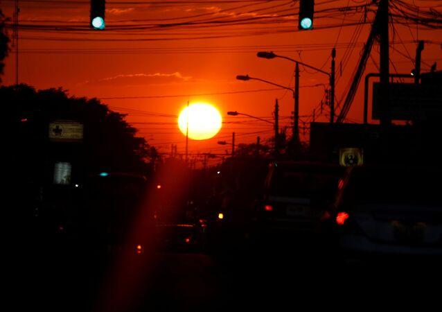 Zachód Słońca, Kostaryka