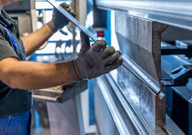 Produkcja listew ze stali